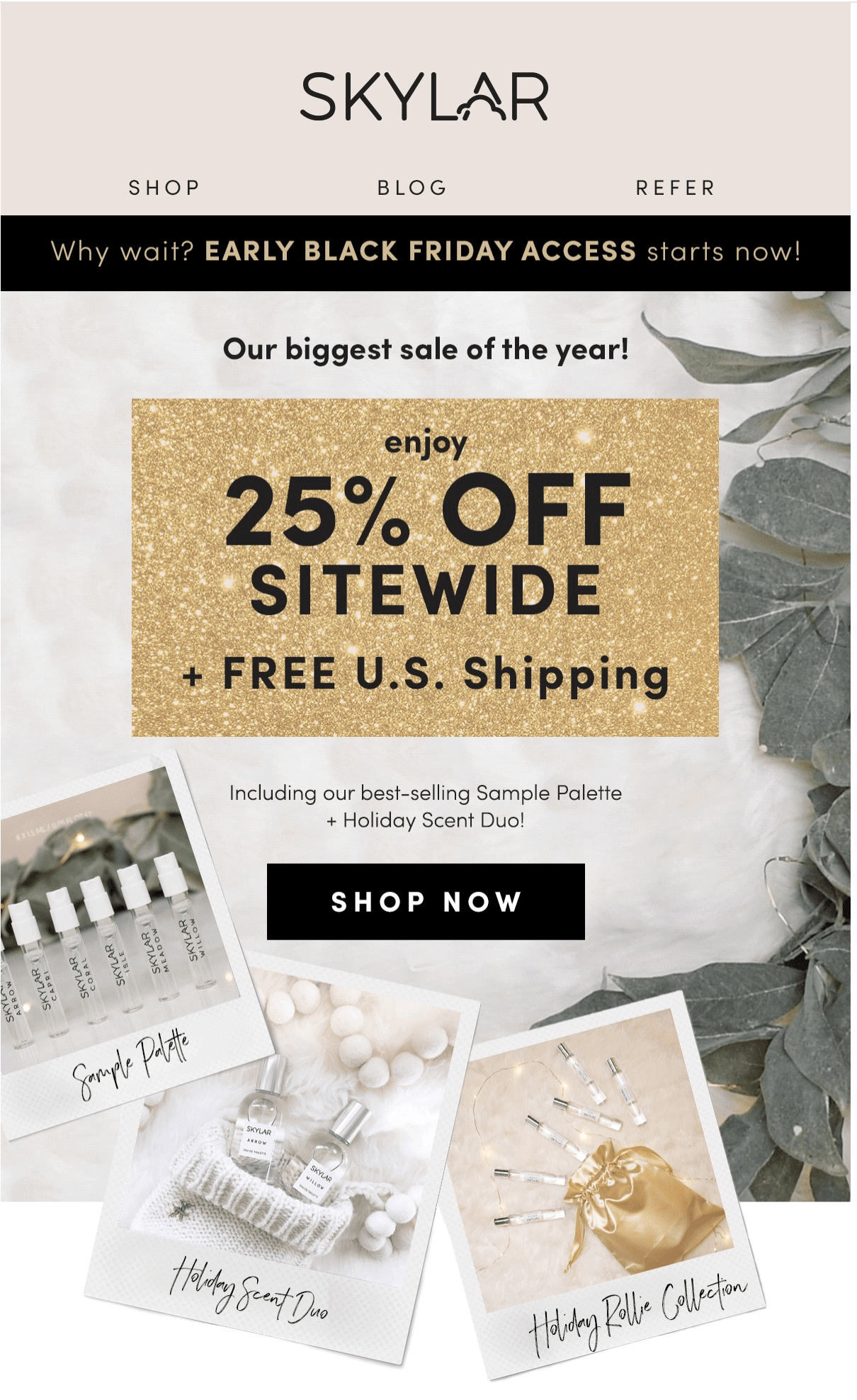 Skylar Early Access Black Friday 2018 - Save 25% Off Sitewide + FREE shipping! - hello subscription