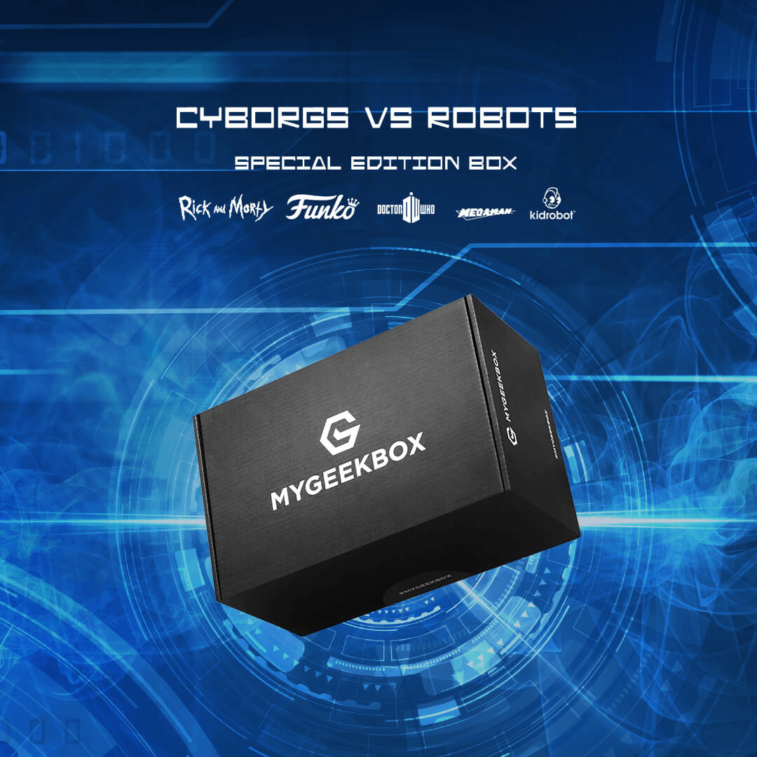 My Geek Box Special Edition Cyborgs vs. Robots Box Available For Pre-Order Now + Spoilers!