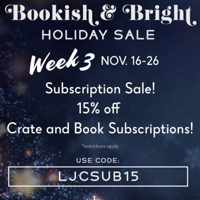 Litjoy Crate Middle Grade Crate Black Friday Coupon: Save 15% On Subscriptions!