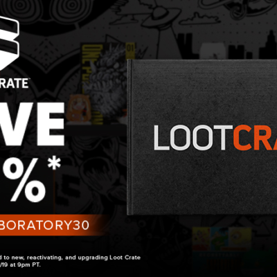 Loot Crate Flash Sale: Get 30% Off Core Crate Subscriptions!