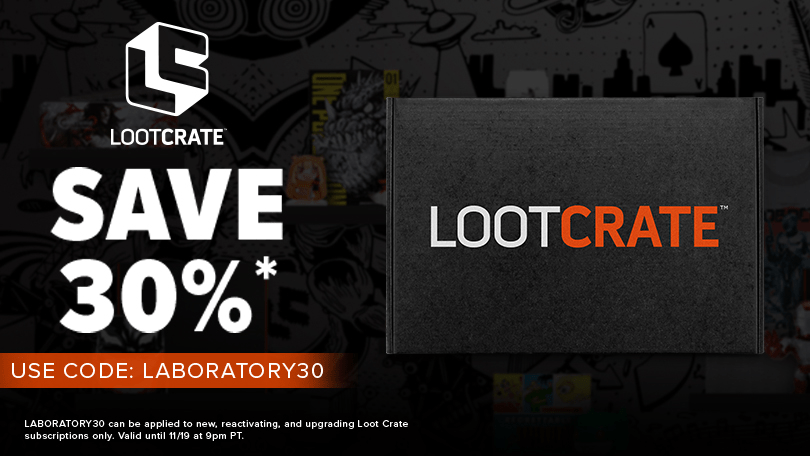 Loot Crate Flash Sale: Get 30% Off Core Crate Subscriptions! - hello subscription