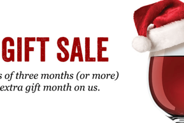 California Wine Club Black Friday Deal: FREE Extra Month on Gift Subscriptions!