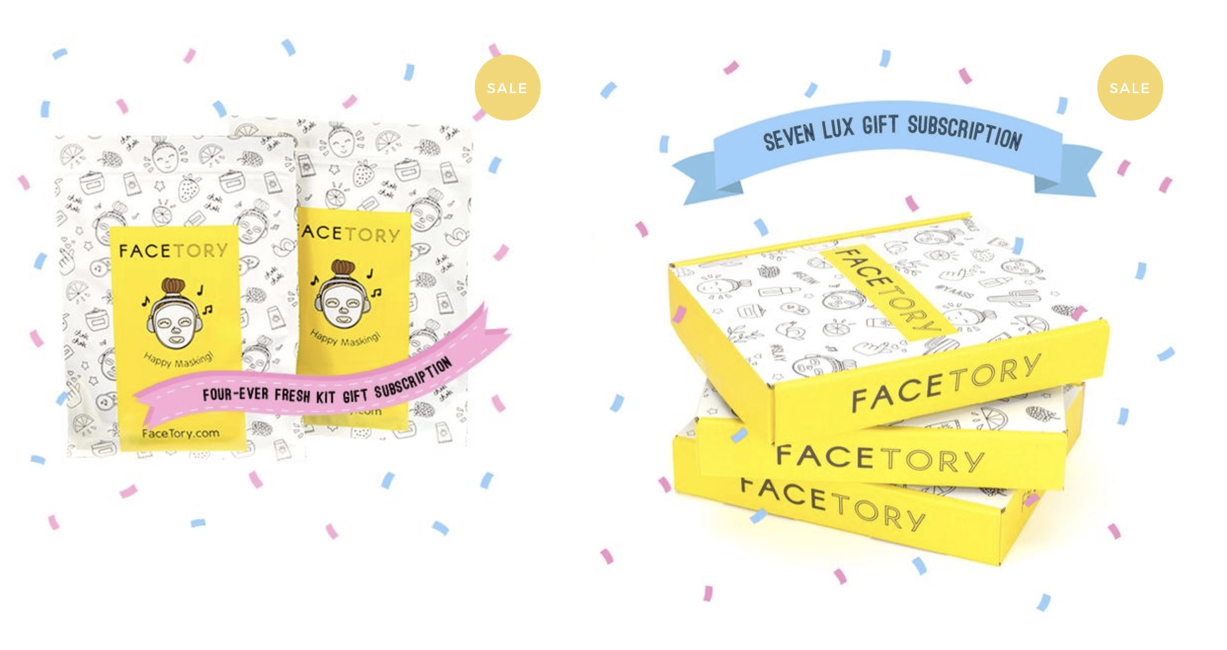 Facetory Gift Subscription Coupon: Save up to $35 on Gifted Subscriptions!