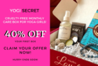 Yogi Secret Cyber Monday Coupon Code: Save 40% On First Month's Box!