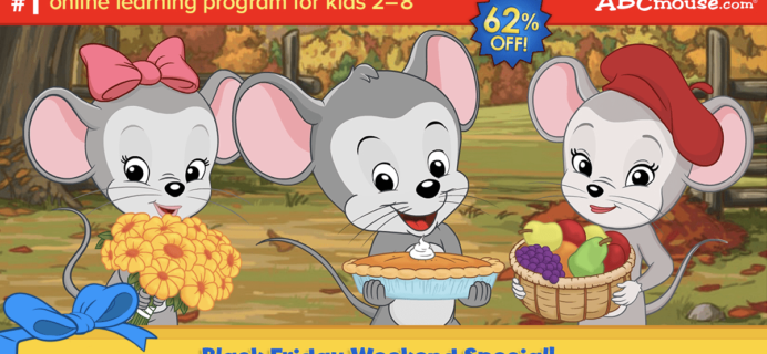ABCmouse Cyber Monday Deal: Get 1 Year of ABCmouse for $45 – 63% Off!