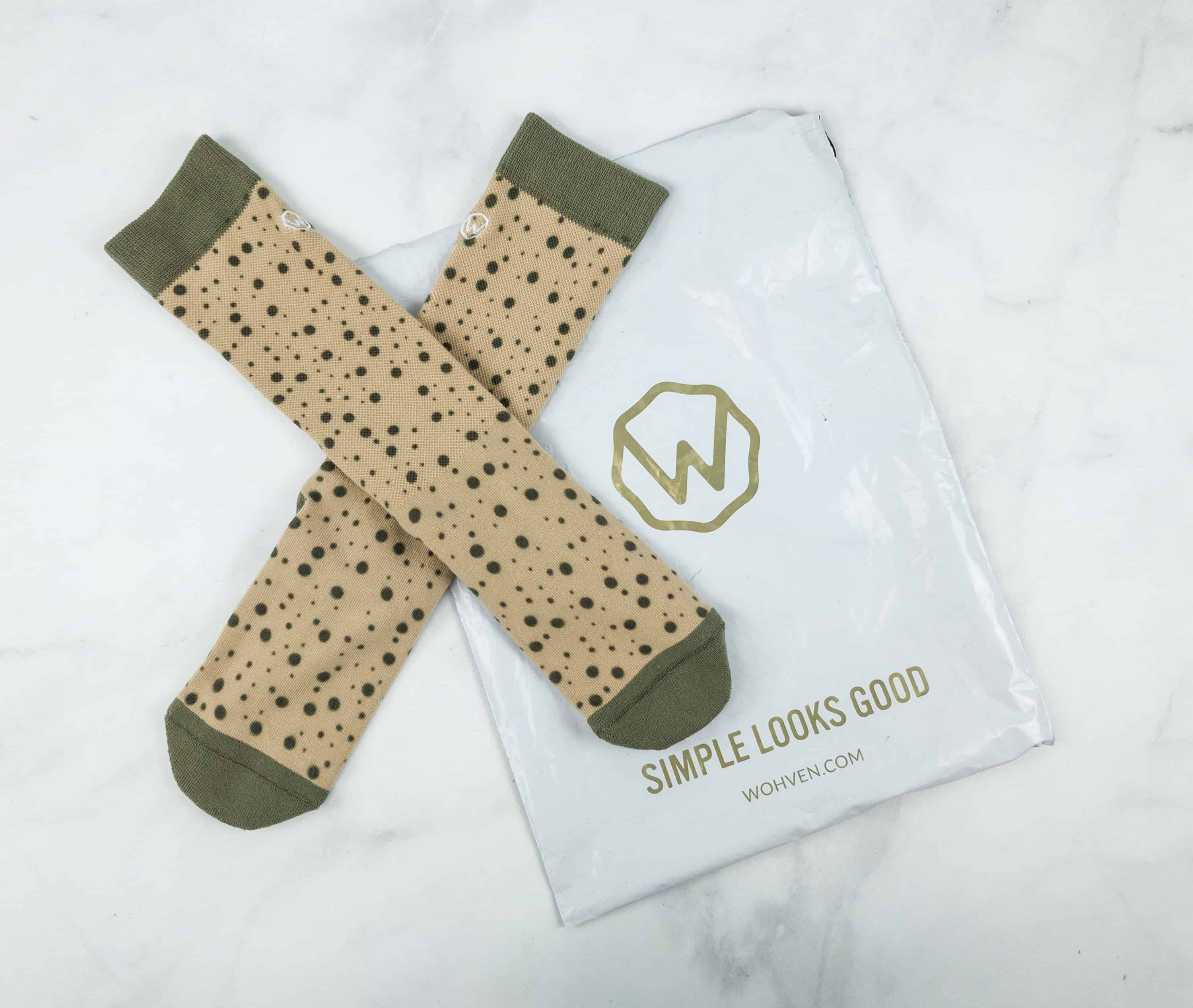 Wohven Socks Subscription November 2018 Review + Coupon!