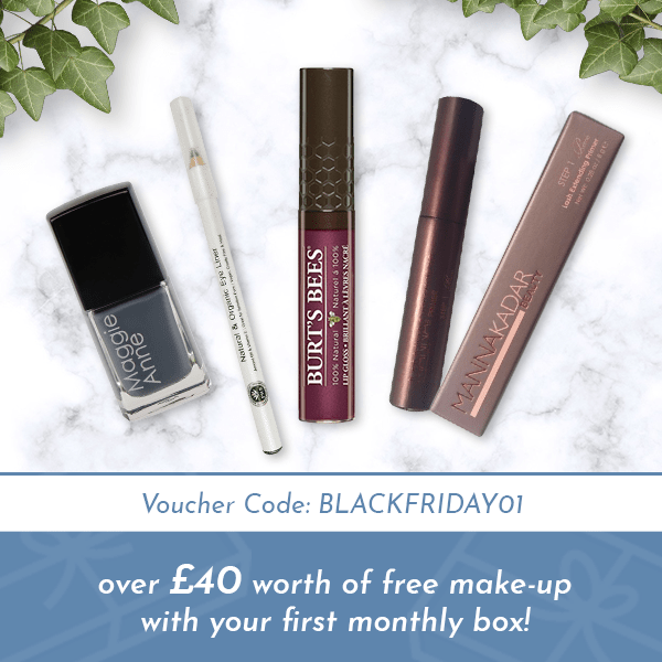 Awebox Cyber Monday 2018 Week Sale: Get £40-worth FREE Makeup On Your First Box!