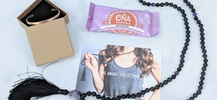 Yogi Surprise Jewelry Box Subscription Review + Coupon – November 2018