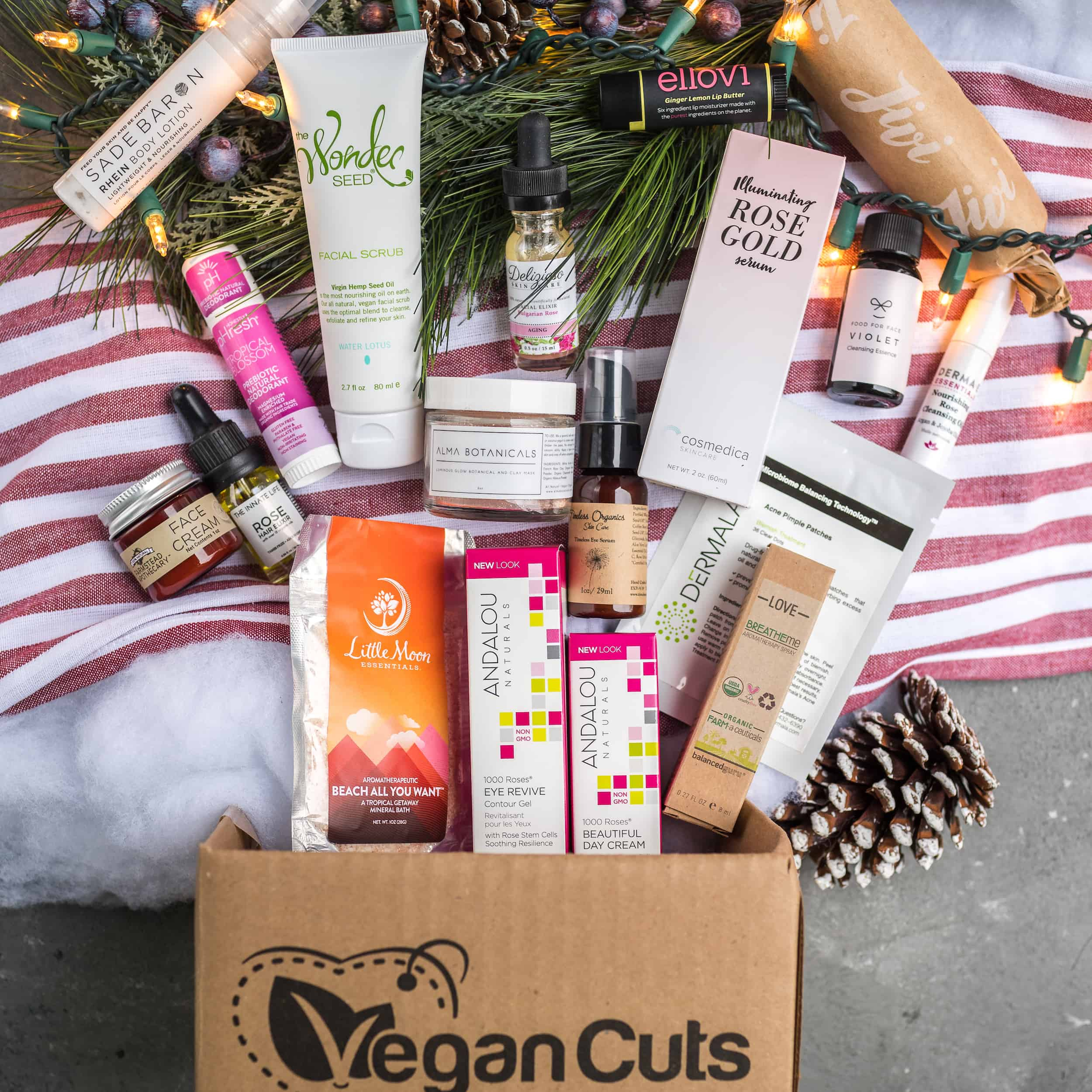 Vegan Cuts Pre Cyber Monday 7 Days of Holiday Sales: Day 3 -Luxuriate Beauty Haul for $34!