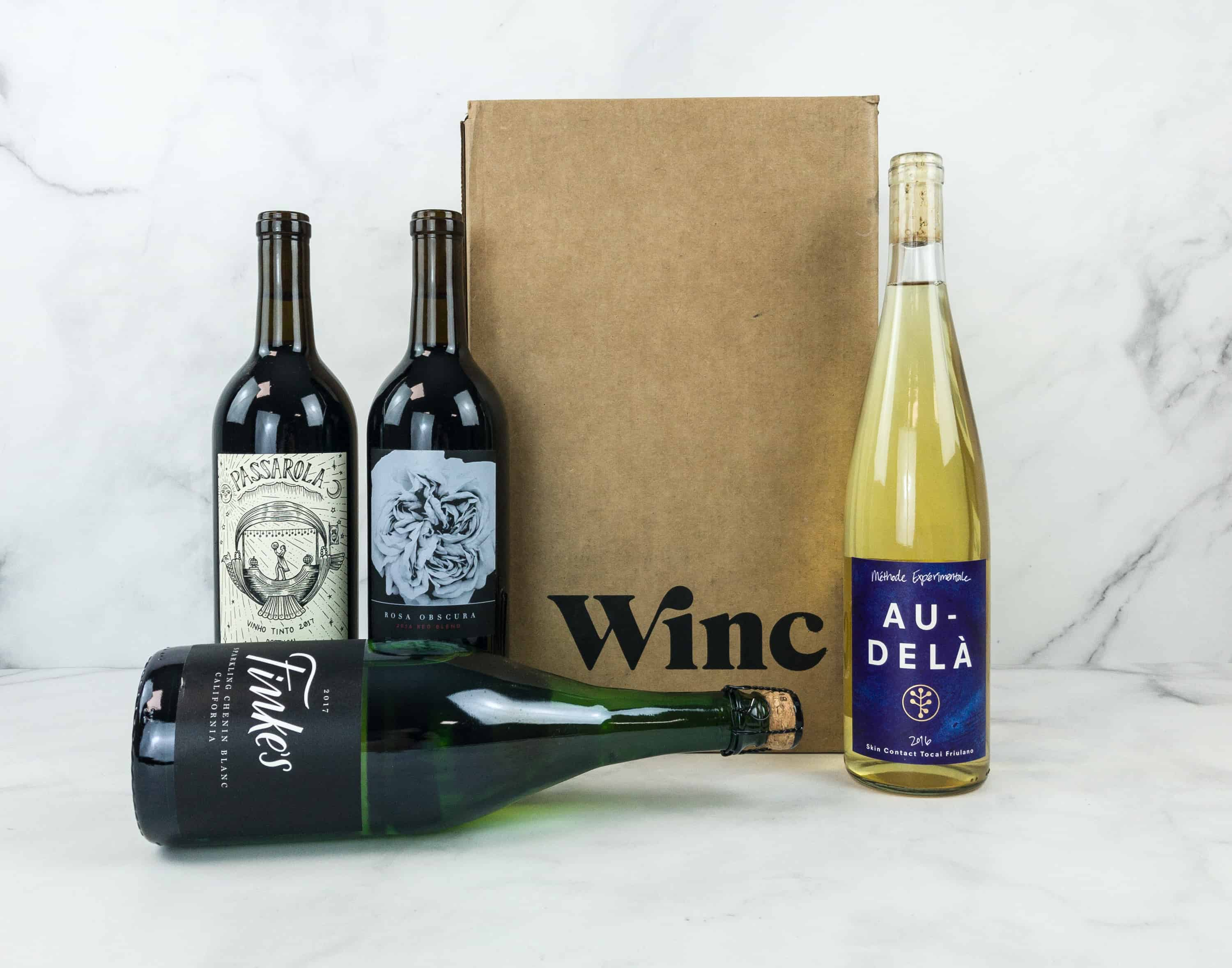 Winc Cyber Week Deal: Save $28 On First Box of Wine!
