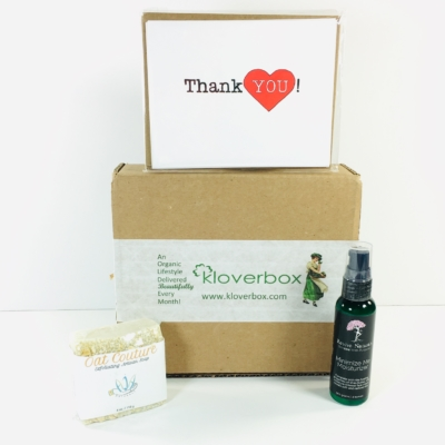 Kloverbox November 2018 Subscription Box Review & Coupon