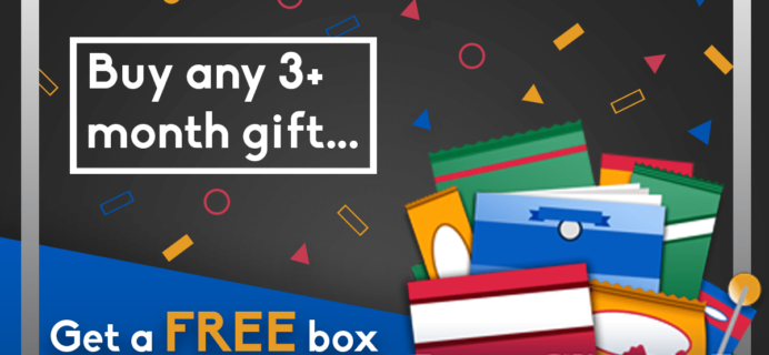 Universal Yums 2018 Black Friday Deal: Get a FREE Box With 3+ Month Gift Subscription!