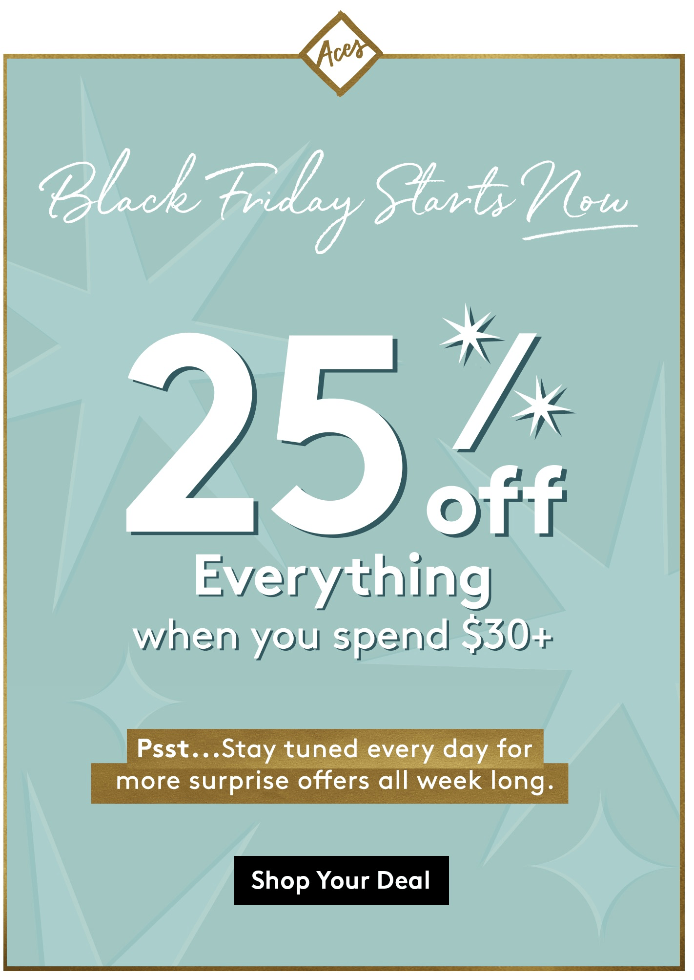 BirchboxMan Black Friday 2018 Deal: Aces Save 25% Off Now!