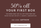 Petit Vour Cyber Monday Coupon: First Box 50% Off With 3-Month Subscription!