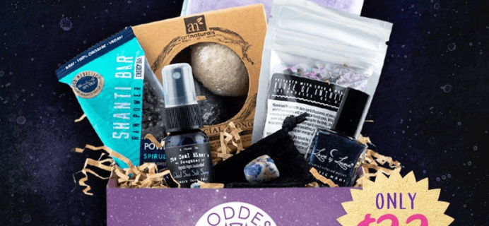 Goddess Provisions Cyber Week Sale: Sacred Waters Box Now $22!
