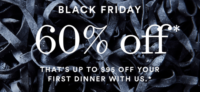 Plated Black Friday 2018 Coupon – Save 60% On First Box!