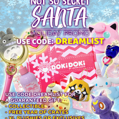 Doki Doki Holiday Sale: Get a Bonus Item With Your First Box!