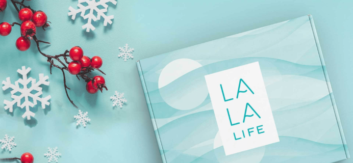 La La Life Cyber Monday Coupon: 30% Off Subscriptions & Holiday Gift Box!