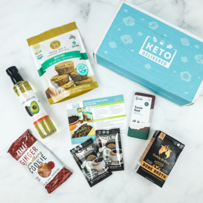 Keto Delivered November 2018 Subscription Box Review