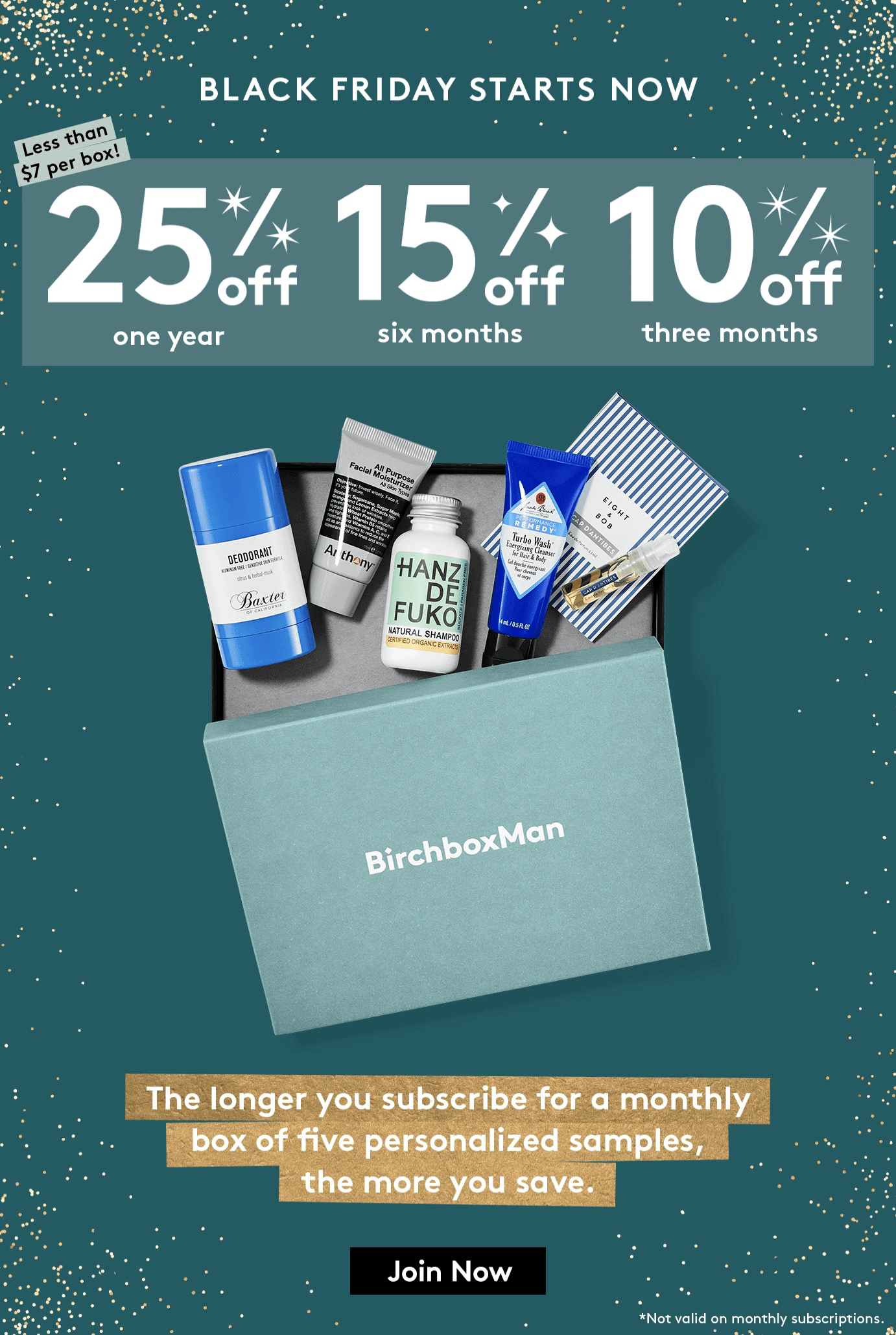 BirchboxMan Cyber Monday 2018 Deal: Save Up To 25% On Subscriptions!