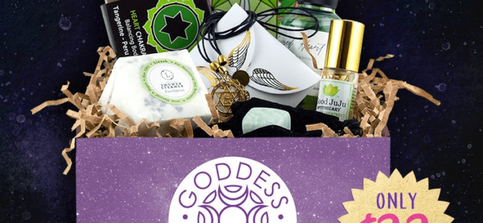 Goddess Provisions Cyber Week Sale: Heart Chakra Box Now $22!