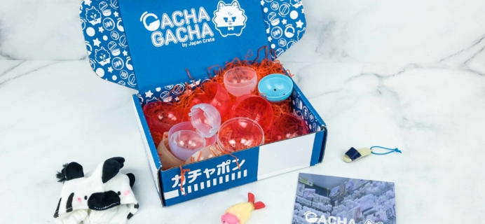 Gacha Gacha Crate October 2018 Subscription Box Review + Coupon