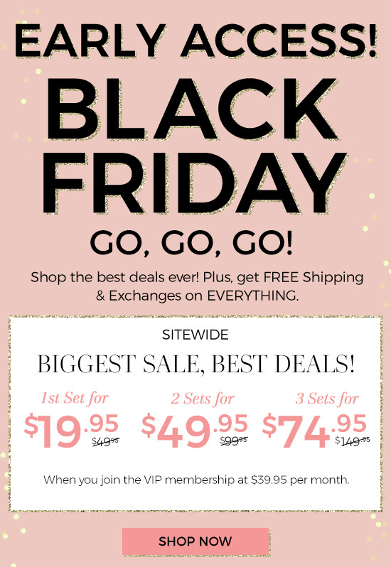 f5115f0c111 Adore Me has started their Black Friday Sale! If you haven t yet  subscribed