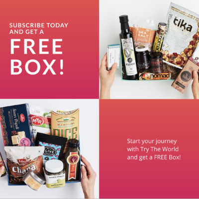 Try the World Holiday Sale: Buy Any Box, Get a BONUS BOX FREE!