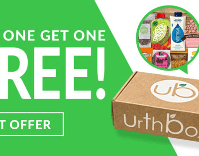 UrthBox Holiday Deal: Get Free Bonus Box + $10 Off!
