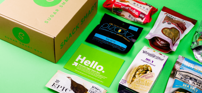 Sugar Smart Box Black Friday Coupon: Get 25% off your first box!