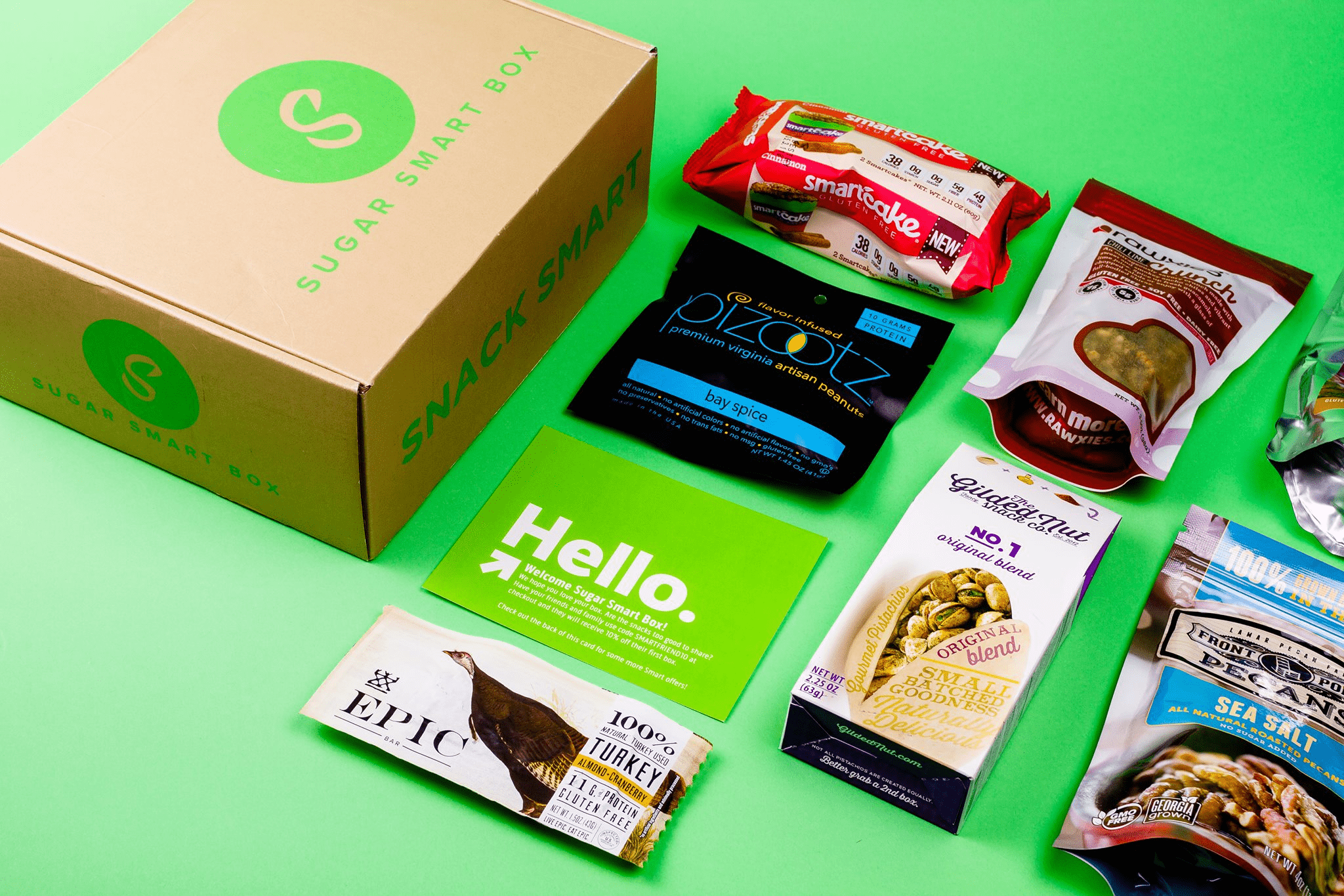 Sugar Smart Box Cyber Monday Coupon: Get 25% off your first box!
