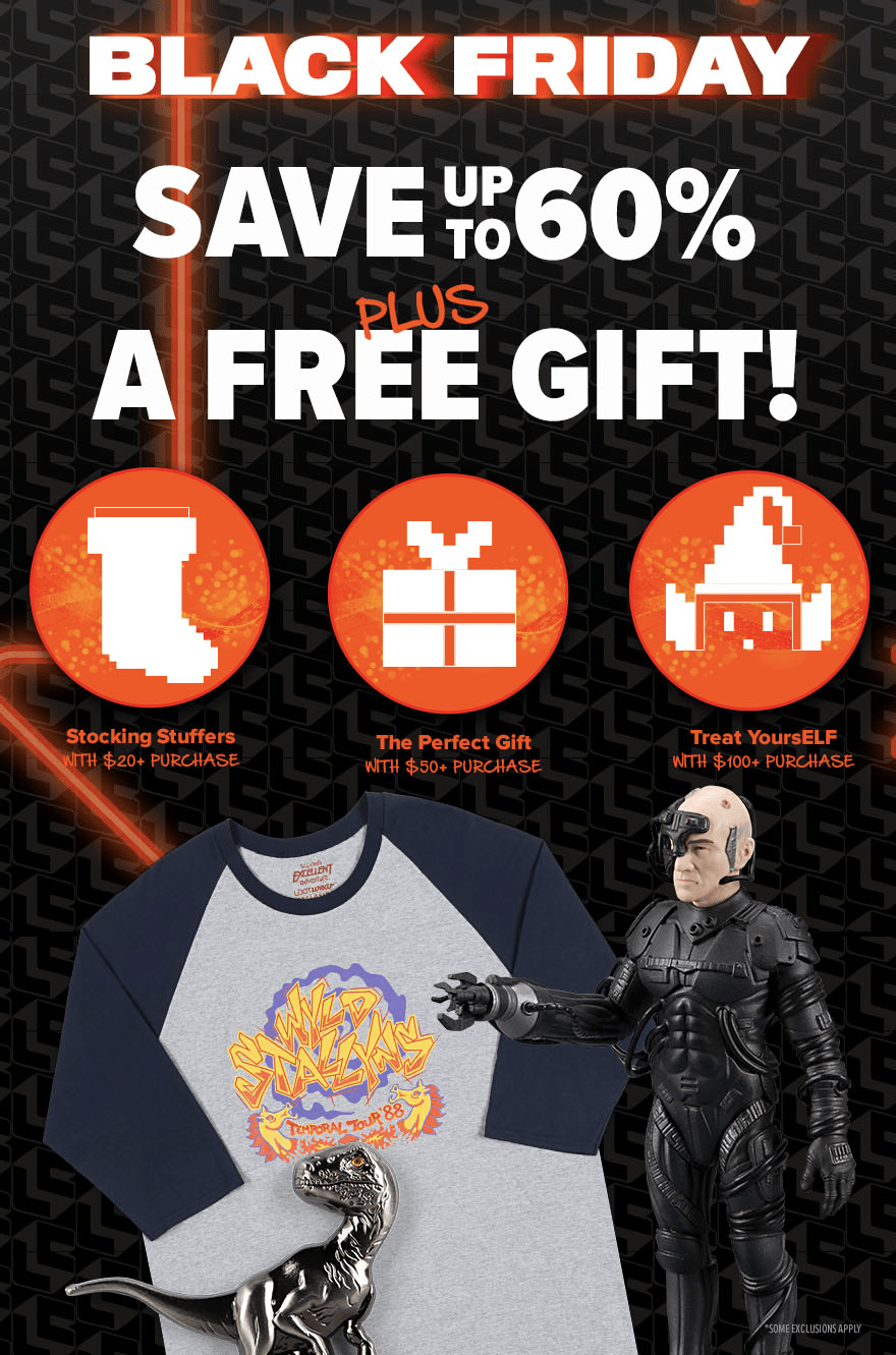 Loot Vault Black Friday Sale: Up to 60% Off + FREE Gift With Purchase!