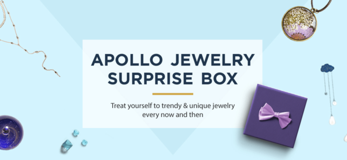 Apollo Jewelry Surprise Box Black Friday Coupon: Get a Free Gift Card With Subscription!