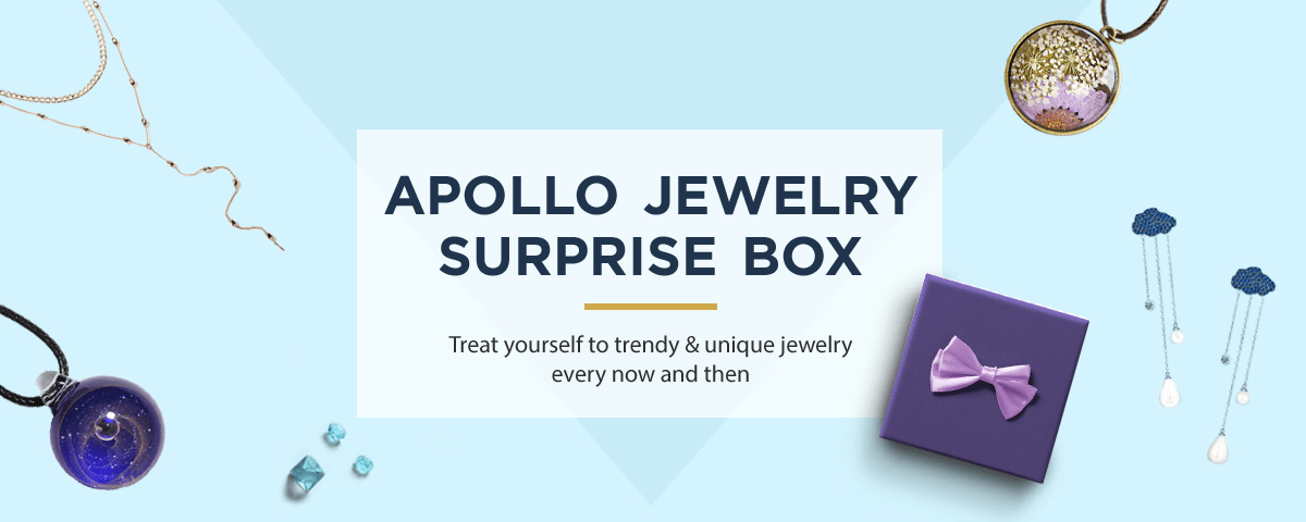 Apollo Jewelry Surprise Box Cyber Monday Coupon: Get a Free Gift Card With Subscription!