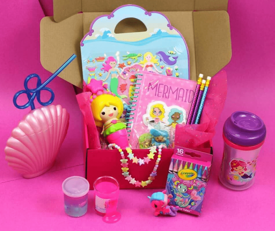 Mermaid Kid Box Black Friday Coupon: Get 10% off Month to Month Orders of Mermaid Kid Box