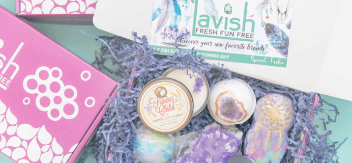Lavish Bath Box Black Friday Deal: Save up to 25% on first month!