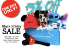 Mickey Monthly 2018 Black Friday Coupon: 15% Off!