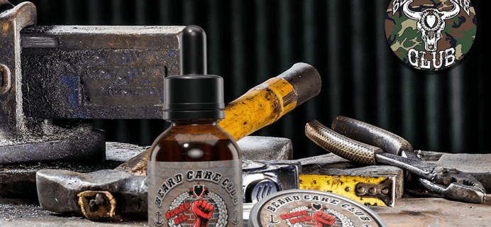 Beard Care Club Cyber Monday Coupon: Save 50% on all new subscriptions!