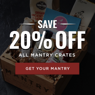 Mantry Cyber Monday Sale: 20% Off All Mantry Crates!