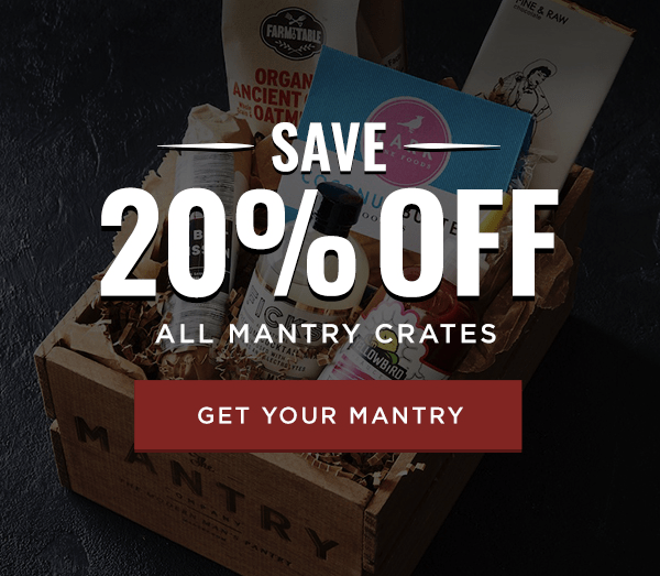 Mantry Black Friday Deal:20% Off All Mantry Crates!