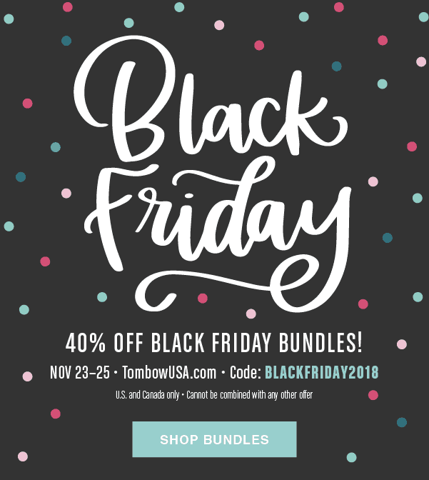 Tombow Black Friday Sale: 40% Off Black Friday Bundles!