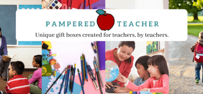 Pampered Teacher Black Friday Coupon: 20% Off Your First Box!