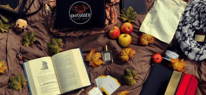 Unplugged Book Box Black Friday Deal: Get 10% off All Orders of Unplugged Book Box