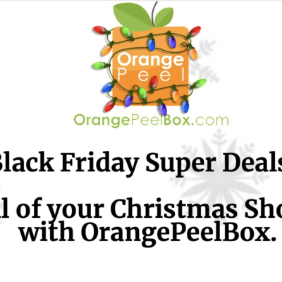 Orange Peel Box Cyber Monday Coupon: Save up to 50% On First Box!
