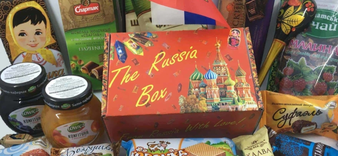 The Russia Box Black Friday Deal: Get $3 off All Orders of The Russia Box