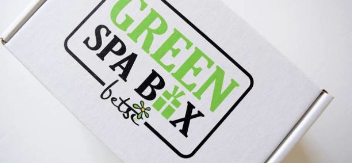 Green Spa Box Black Friday Deal: Save 15% on subscriptions!