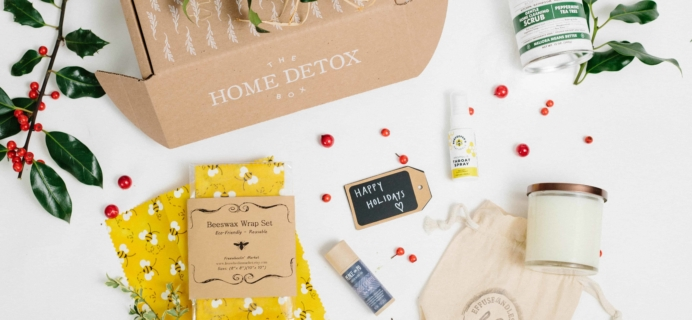 The Home Detox Box Black Friday Coupon: Take 20% off your first box!