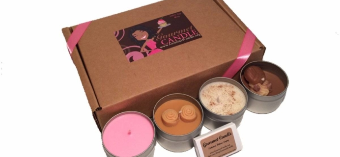 GourmetCandle Black Friday Coupon: Get 30% off First Box!