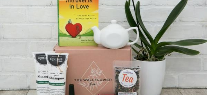 The Wallflower Box Black Friday Coupon: Get 15% off, plus an extra gift in your box!
