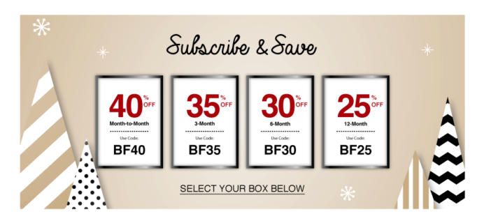 Beauteque Beauty Box & Mask Maven Cyber Monday Deal: Get 40% off First Month, Save on Longer Subscriptions!